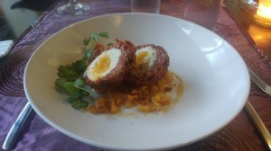 Water's Edge Scotch Egg